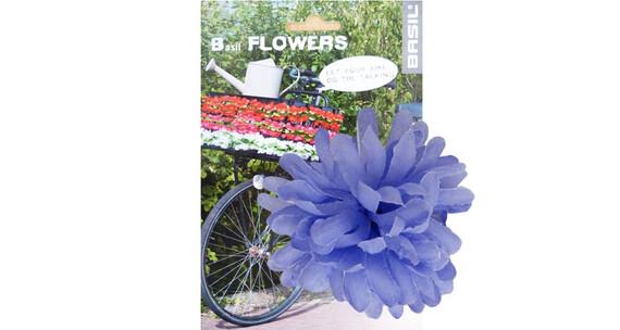 Basil Flower Dahlia til styre og ramme lilla